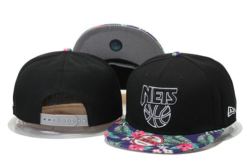 Brooklyn Nets Snapback Black Hat 1 GS 0620